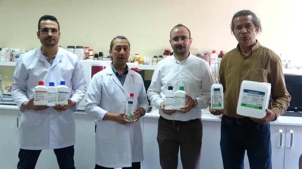İngiltere'den dezenfektan üreten Türk firmaya teşekkür