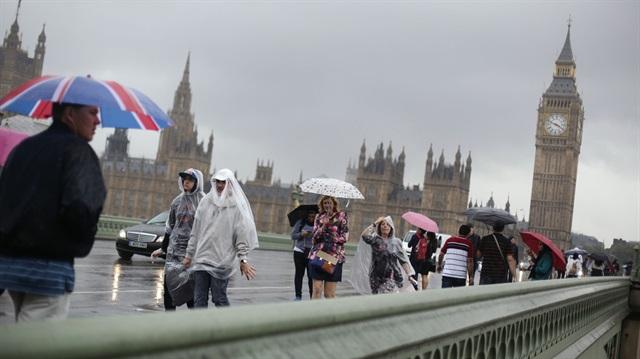 İngiltere'nin başkenti Londra'da göç başladı