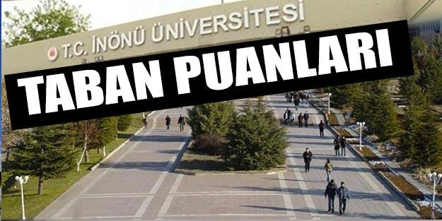 İnönü Üniversitesi taban puanları 2019