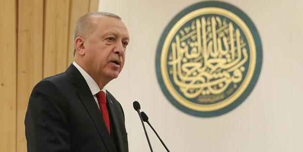 'İnşallah düzgün tercüme ederler' diyen Cumhurbaşkanı Erdoğan, İngiltere'de o şiiri okudu