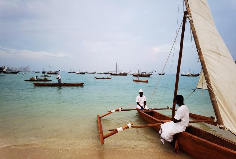 İnsanı zaman yolculuğuna çıkaran ahşap tekne festivali göz doldurdu