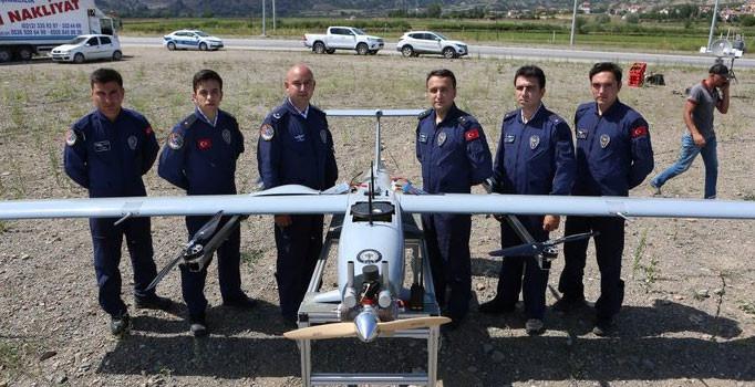 İnsansız hava aracı 'Çağatay' ilk görevini gerçekleştirdi