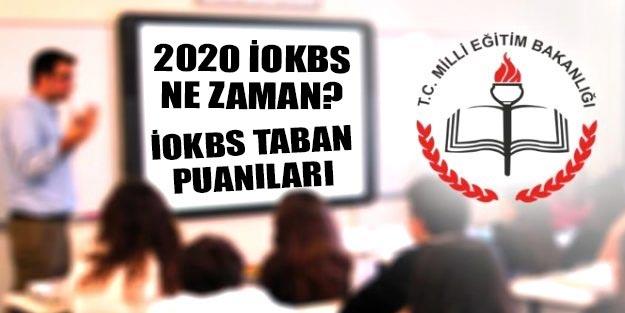 İOKBS ne zaman 2020? MEB 2020 PYBS taban puanları ne kadar?