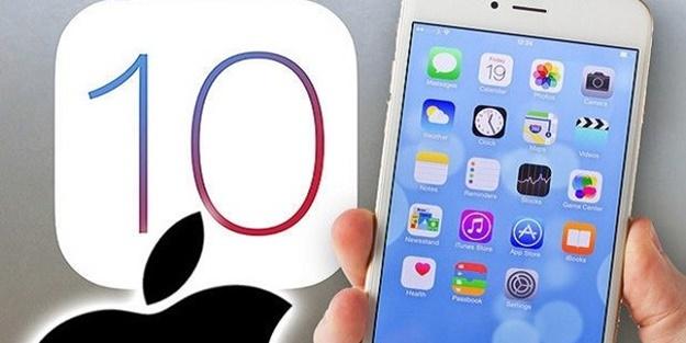 iOS 10.0.2 güncellemesini alan cihazların listesi