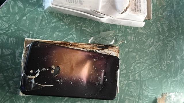 iPhone'lar patlamaya başladı