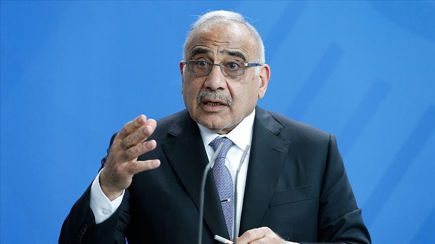 Irak Başbakanı büyük gösteri öncesinde halka hitap etti