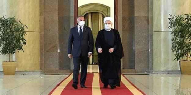 Irak Başbakanı Mustafa el-Kazımi, Hasan Ruhani ile görüştü