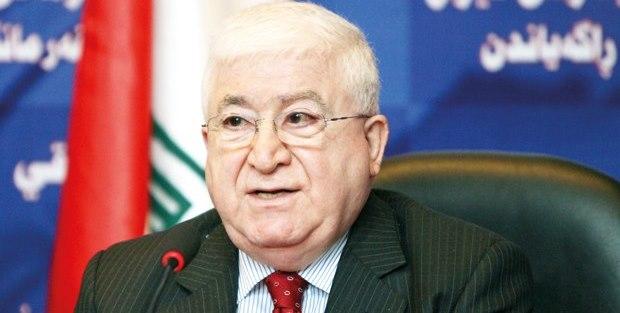 Cumhurbaşkanı Fuad Masum Türkiye'ye gideceği bildirildi
