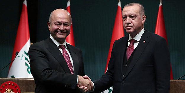 Irak Cumhurbaşkanı Türkiye'ye gelecek