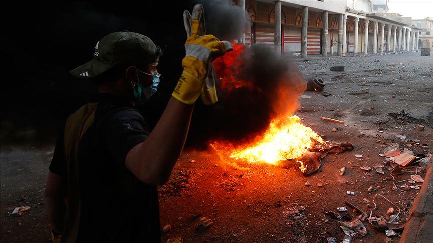 Irak, Necef'te İran Başkonsolosluğu binasının ateşe verilmesini kınadı