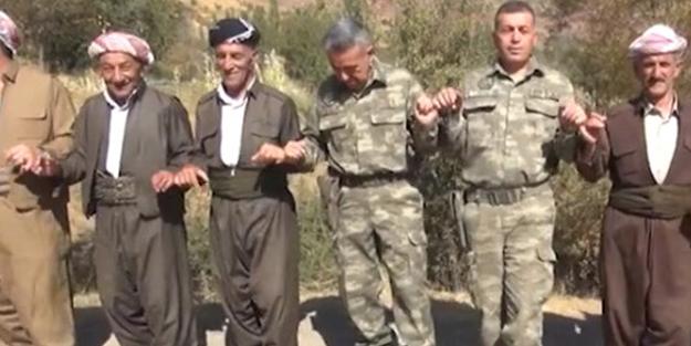 IRAK SINIRINDA PKK'LILARI ÇILDIRTACAK GÖRÜNTÜLER!
