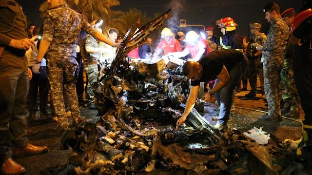 Irak'ın başkenti Bağdat'ta bombalı saldırı: 11 ölü 50 yaralı
