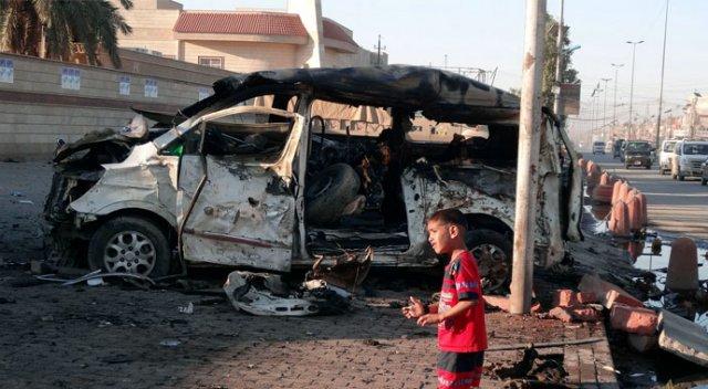 Irak'ın başkenti Bağdat'ta yine bombalar patladı: 10 ölü