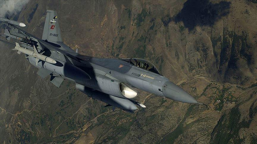 Irak'ın kuzeyinde Metina bölgesinde PKK'lı 8 terörist etkisiz hale getirildi