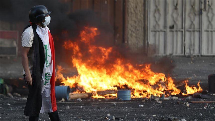Irak'ın Necef kentindeki gösterilerde 10 kişi öldü
