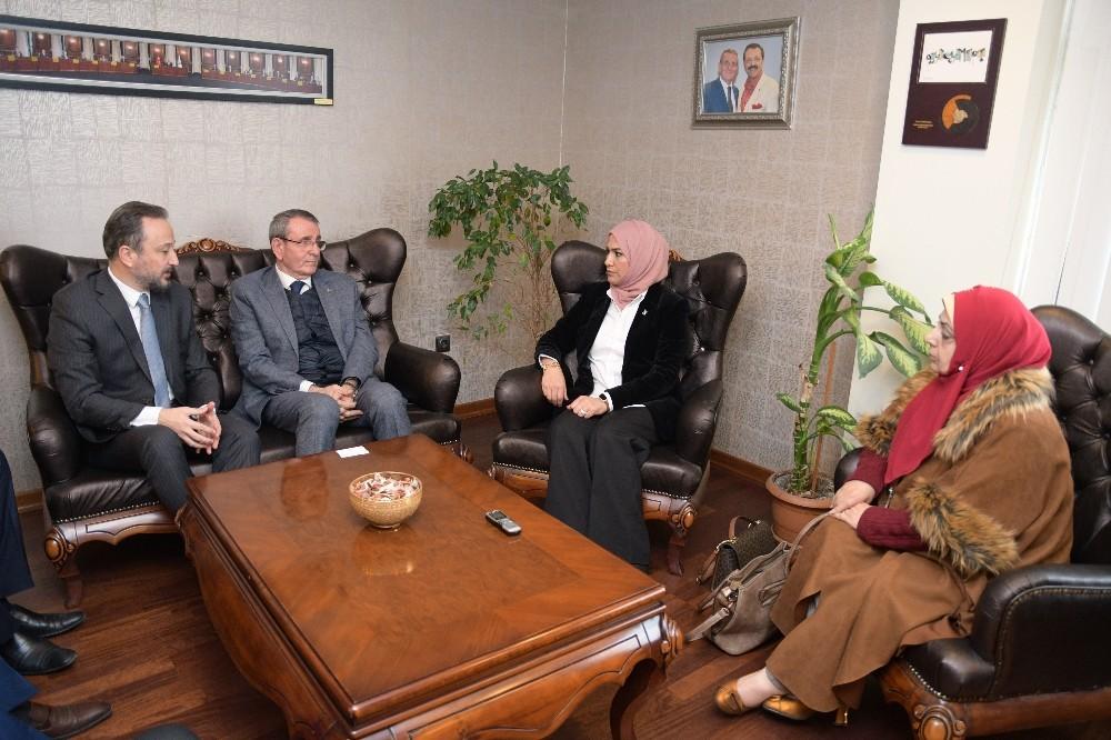 Iraklı kadın milletvekilleri, iş birliği için Samsun'da