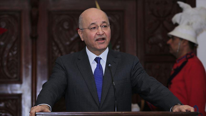 Irak'ta gözler Cumhurbaşkanı'nda