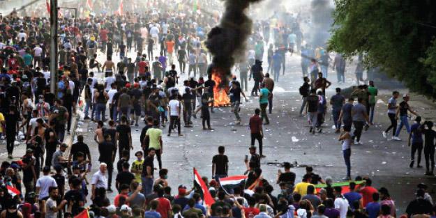 Irak'ta İran ateşi! İşsizlik, yolsuzluk bahane; Tahran yanlısı Şiiler ayaklandı