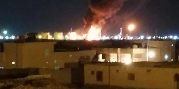 Irak'ta petrol rafinerisine saldırı!