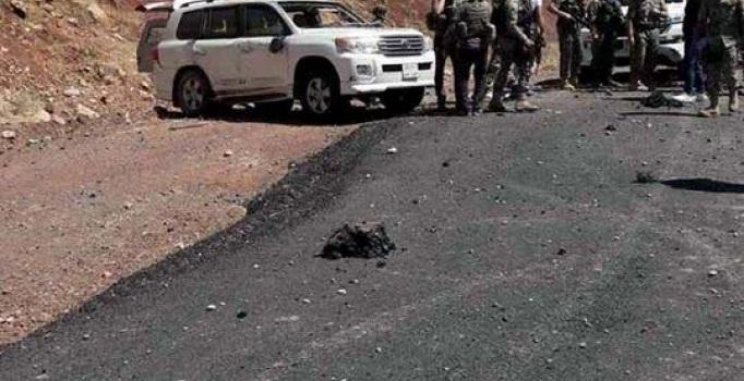 Irak'ta Türk askerinin geçişi sırasında patlama: 2 yaralı