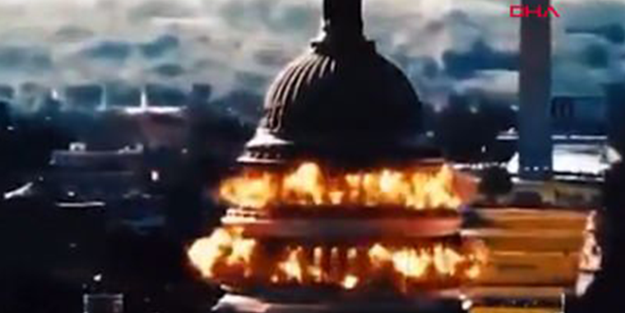 İran ABD Kongre Binasını simülasyon video ile 'havaya uçurdu' ?