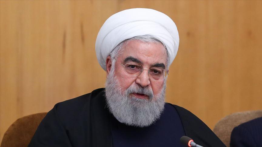 İran Cumhurbaşkanı Ruhani: ABD'nin bölgedeki askeri varlığı gerilimi artırmıştır