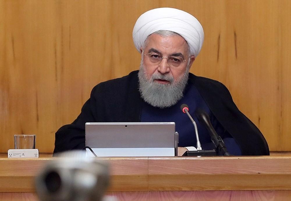 """İran Cumhurbaşkanı Ruhani: """"İran hiçbir zaman ABD'yle savaş istemedi"""""""