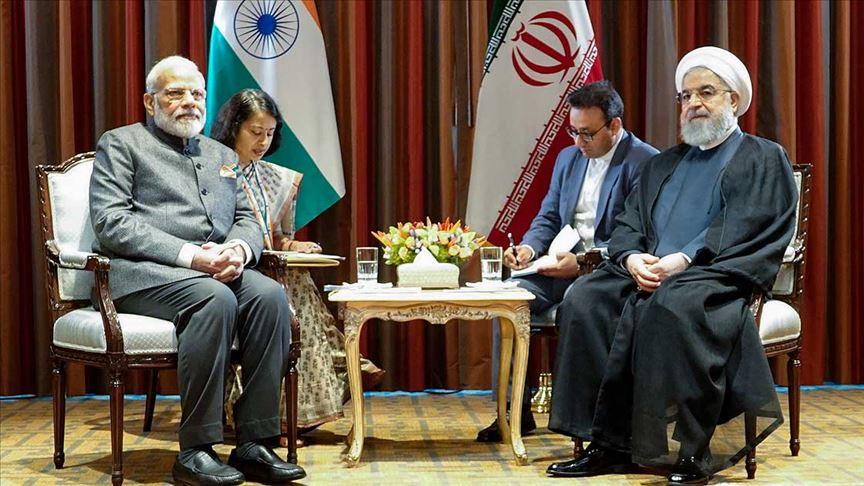 İran Cumhurbaşkanı Ruhani, Modi ile Keşmir sorunlarını görüştü