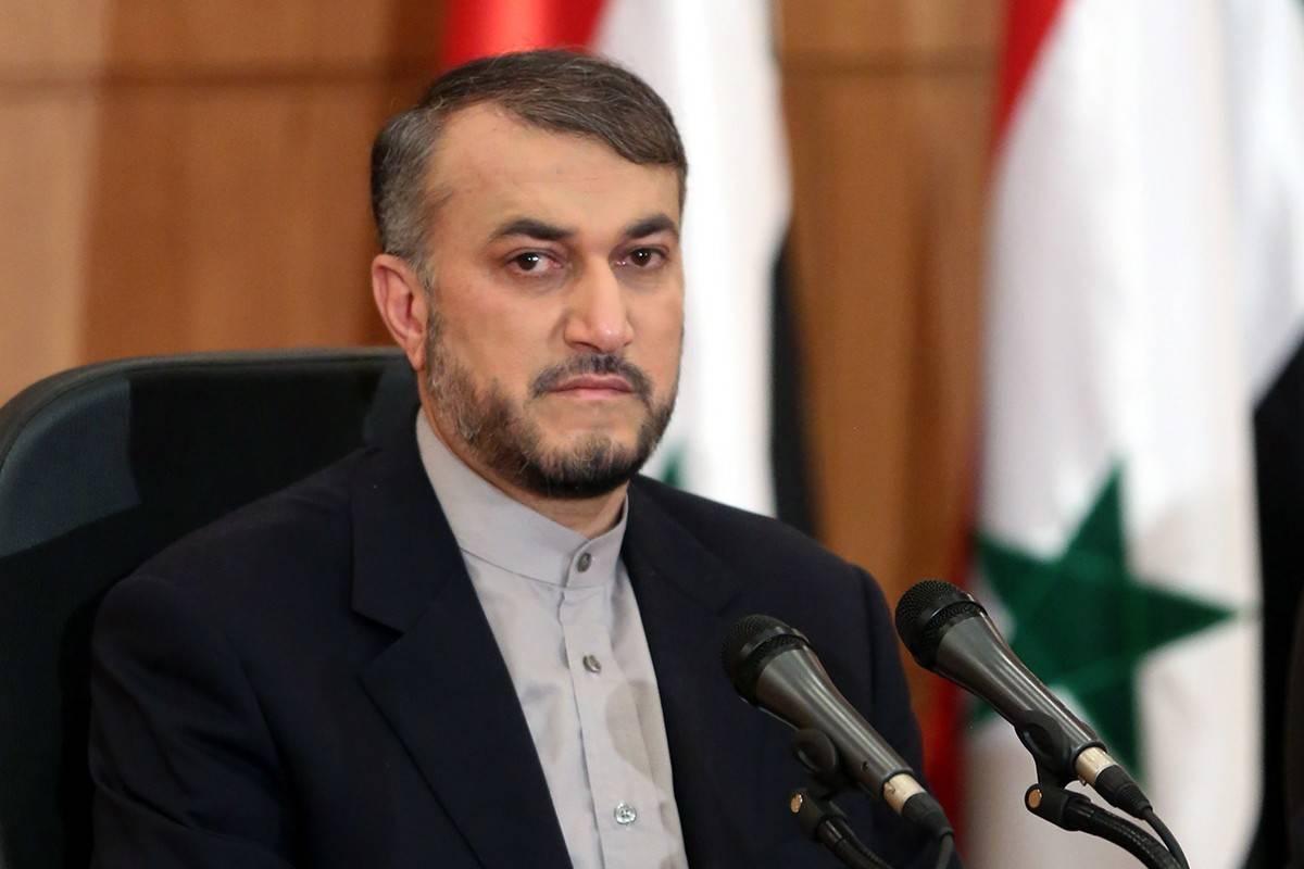 """İran Dışişleri Bakanı Abdullahiyan: """"Beyaz Saray, İran'ı tehdit etmemeyi öğrenmeli"""""""