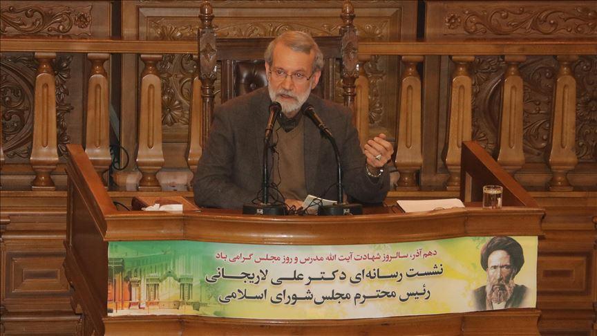 İran Meclis Başkanı Laricani: Irak'ta Sistani olduğu için endişeli değiliz