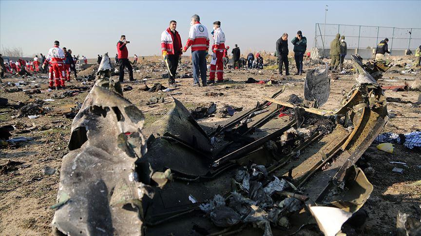 İran ordusunun vurduğu Ukrayna uçağıyla ilgili sorumlular hala ortaya çıkarılmadı