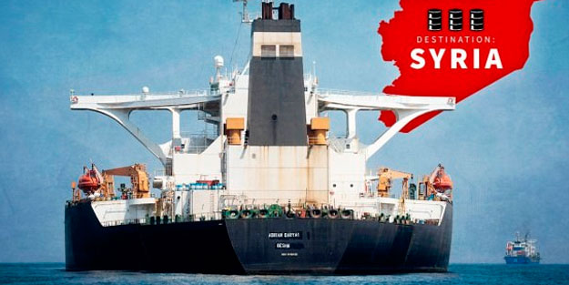İran tankeri takip cihazını kapattı
