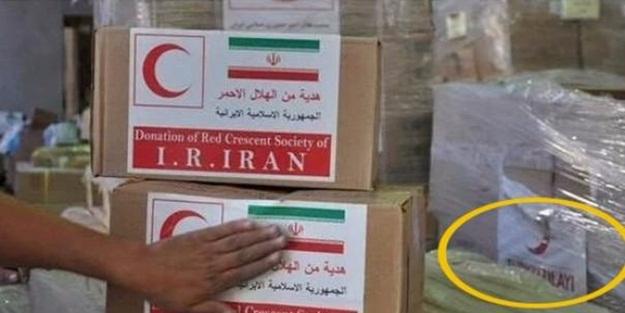 İran, Türk Kızılay'ının mallarını çalıp...
