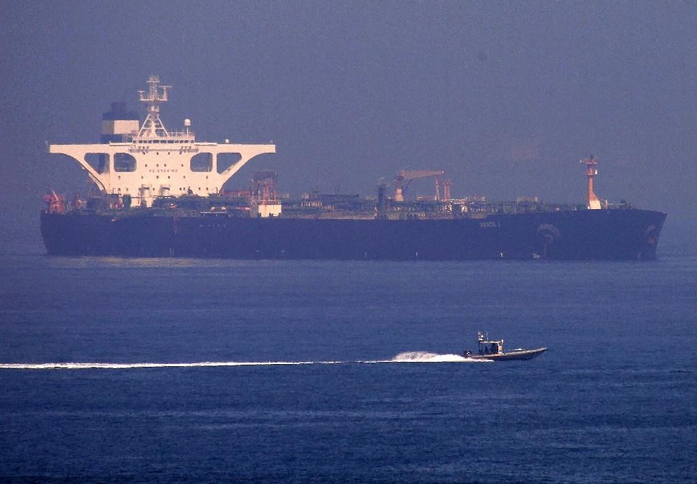 İran'a ait petrol tankeri Cebelitarık'tan ayrıldı