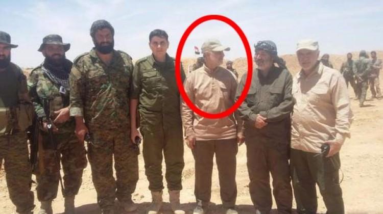 İran'ın en karanlık komutanı böyle görüntülendi!