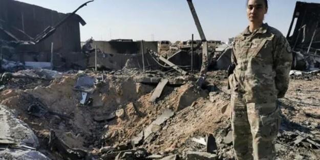 İran'ın vurduğu ABD üssü ilk kez görüntülendi