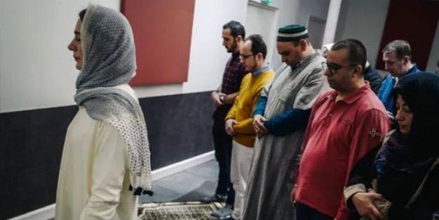 Irkçı Batı'da camide İslam'a mugayir faaliyet! 'Kadın imam' namaz kıldırdı