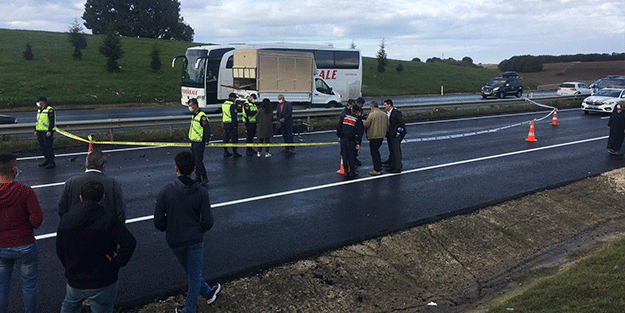 İşe giderken kaza geçiren motosikletli hayatını kaybetti
