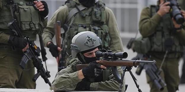 İşgalci İsrail askerleri yine Filistinlilere saldırdı