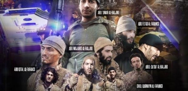 İşte Paris saldırganlarının fotoğrafları