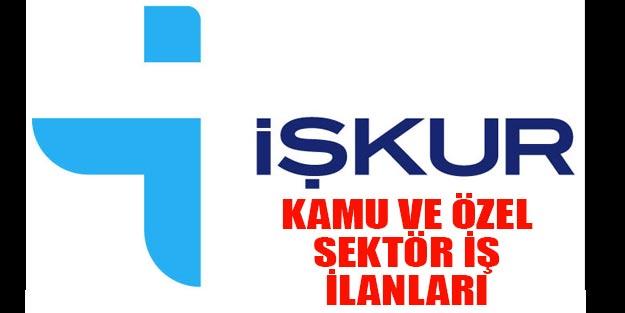 İŞKUR kamu kurum ilanları İŞKUR özel sektör iş ilanları