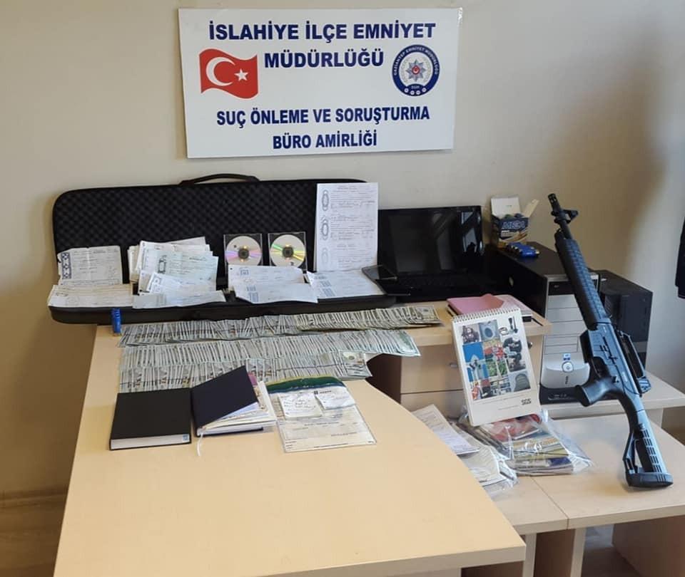 İslahiye'de tefeci operasyonu: 31 gözaltı