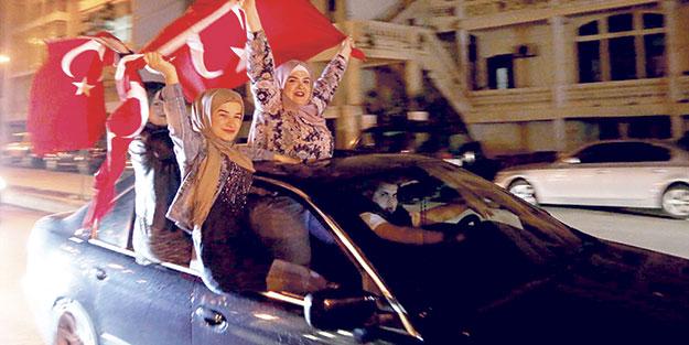 İslam dünyasında 'evet' sevinci!