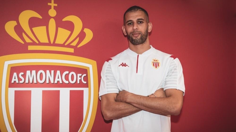Islam Slimani resmen Monaco'da