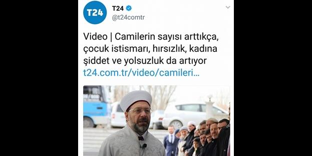 İslam'a kin kustu! T24 sitesinden alçak algı operasyonu!