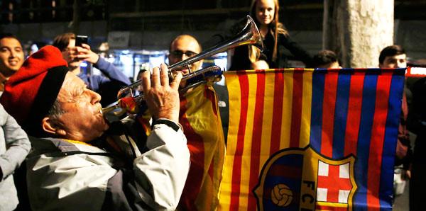 İspanya ayakta! Taraftarlar sokağa döküldü