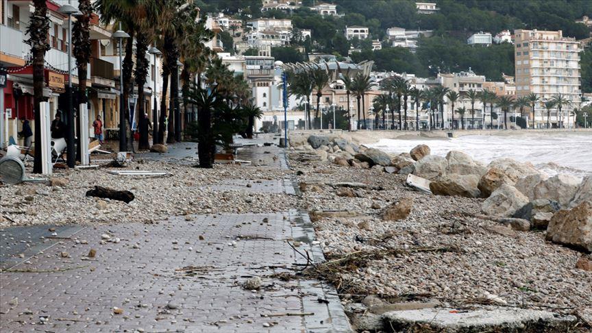İspanya'da 'Gloria Kasırgası' dört can aldı