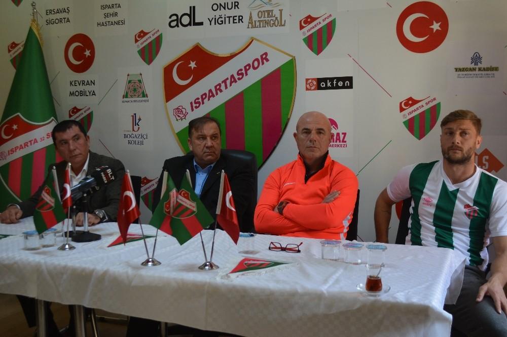 Isparta 32 Spor Başkanı Yazgan: