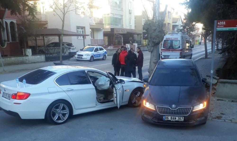 Isparta 32 Spor yöneticisi Eroğlu, trafik kazasında yaralandı