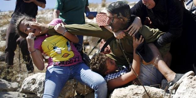 İsrail askerine direnen kız bakın kim çıktı